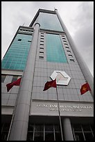 Saigon trade center tower. Ho Chi Minh City, Vietnam ( color)