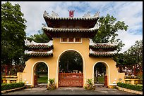 Le Van Duyet temple gate, Binh Thanh district. Ho Chi Minh City, Vietnam (color)