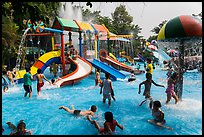 Dam Sen Water Park, district 11. Ho Chi Minh City, Vietnam (color)
