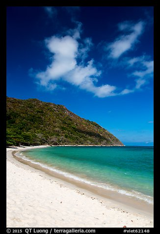 Cat Lon Beach, Bay Canh Island, Con Dao National Park. Con Dao Islands, Vietnam (color)