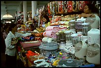 Dong Kinh Market, with its goods imported from nearby China. Lang Son, Northest Vietnam