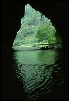 The Nang River passes through a cave. Northeast Vietnam ( color)