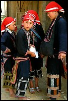 Red Dzao boys. Sapa, Vietnam