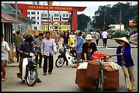 Border crossing with China at Lao Cai. Vietnam