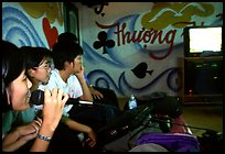 Karaoke session. Ho Chi Minh City, Vietnam (color)