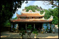 Temple, Marble Mountains. Da Nang, Vietnam (color)