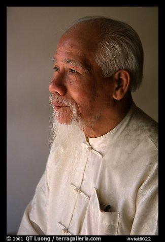 Traditional medicine master, Ho Chi Minh city. Vietnam (color)
