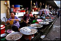 Fish vendors. Ho Chi Minh City, Vietnam ( color)