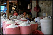 Rice is the basis of Vietnamese food, and there is a lot to choose from, District 6. Cholon, Ho Chi Minh City, Vietnam ( color)