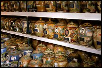 Cremation is popular. Ashes are collected in individual funeral urns. Ho Chi Minh City, Vietnam ( color)
