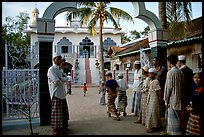 Mosque in Cham minority village. Chau Doc, Vietnam ( color)