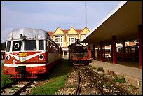 The train station. Da Lat, Vietnam (color)