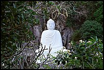 Buddha statue in the Marble mountains. Da Nang, Vietnam (color)