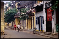Old houses, Hoi An. Hoi An, Vietnam (color)