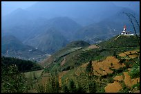Hills of the Blue Country. Sapa, Vietnam ( color)