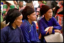 Ethnic minority women. Sapa, Vietnam (color)