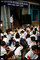 Outdoor classrom. Ho Chi Minh City, Vietnam (color)