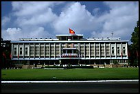 Reunification Palace, the former presidential palace of South Vietnam. Ho Chi Minh City, Vietnam ( color)
