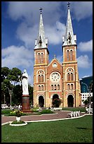 Notre-Dame Cathedral. Ho Chi Minh City, Vietnam (color)