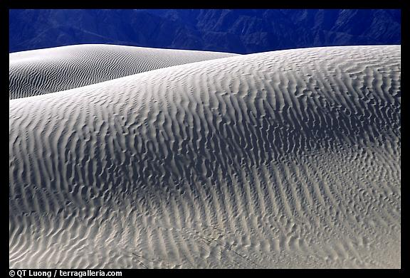 Sand Dunes, Death Valley National Park.