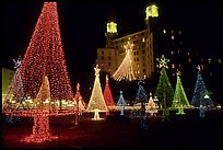 Christmas Lights, Hot Springs, Arkansas.