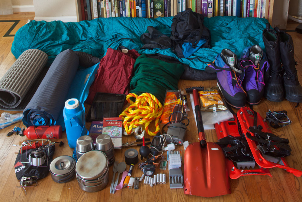 Alaska Winter Photography Gear