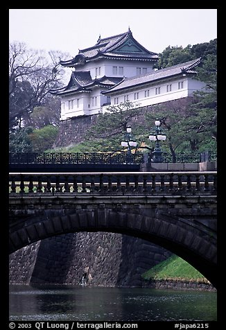 Imperial Palace. Tokyo, Japan (color)