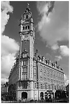 Belfries, Lille. France ( black and white)