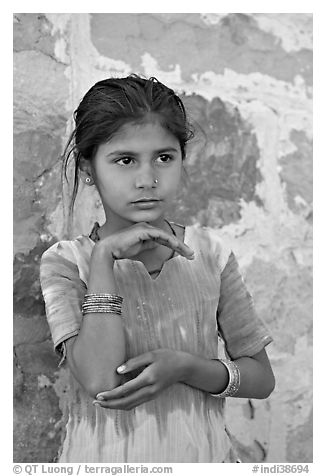 Young girl. Jodhpur, Rajasthan, India