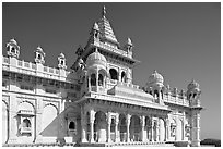 Jaswant Thada. Jodhpur, Rajasthan, India (black and white)
