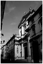 Church, Corso Andrea Paladio,. Veneto, Italy ( black and white)