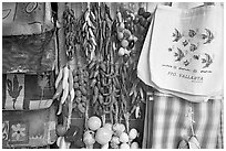 Crafts and bags for sale, Puerto Vallarta, Jalisco. Jalisco, Mexico ( black and white)