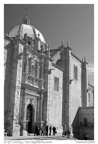 Side door of the churrigueresque cathedral. Zacatecas, Mexico