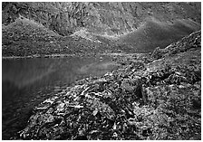 Aquarious Lake II. Gates of the Arctic National Park ( black and white)