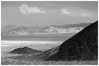 Ibex hills. Death Valley National Park ( black and white)