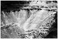 Bridal Veil Falls. Cuyahoga Valley National Park ( black and white)