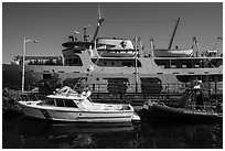 National Park Service vessels. Isle Royale National Park ( black and white)