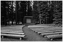 Amphitheater, Sunset Campground. Kings Canyon National Park ( black and white)