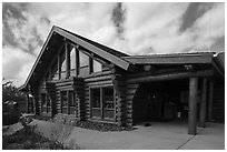 Visitor Center. Black Canyon of the Gunnison National Park ( black and white)