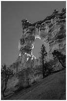 Tower Bridge. Bryce Canyon National Park ( black and white)