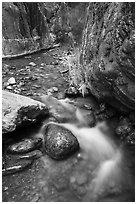 Clear Creek gorge. Grand Canyon National Park ( black and white)