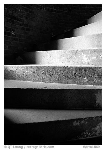 black and white picture photo spiral staircase fort jefferson dry tortugas national park. Black Bedroom Furniture Sets. Home Design Ideas