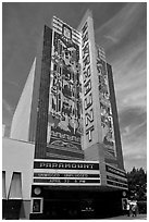 Paramount Theater. Oakland, California, USA ( black and white)