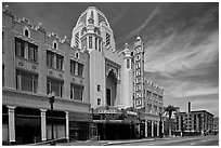 Oakland Fox Theater. Oakland, California, USA ( black and white)