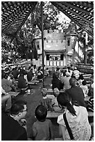 Puppet Theatre, Happy Hollow Park. San Jose, California, USA ( black and white)