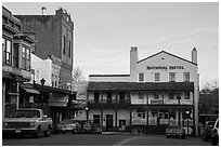 National Hotel, Jackson. California, USA ( black and white)