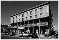 Truckee Hotel, Truckee. California, USA ( black and white)