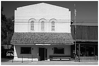 Post Office, Cedarville. California, USA ( black and white)