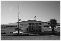 Post Office, Amboy. California, USA ( black and white)