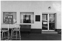 Roys gas station, Amboy. California, USA ( black and white)
